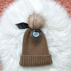 New Knit Faux Fur Toque Hat